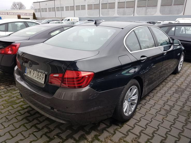 leasing - BMW - 518D aut
