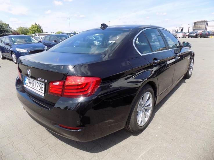 leasing - BMW - 518d aut