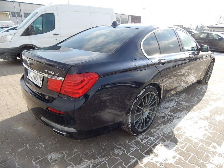 leasing - BMW - 740d