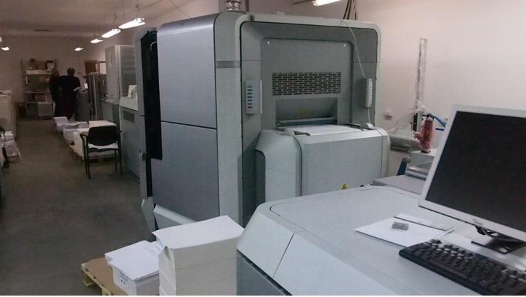 leasing - OCE PRINTING SYSTEMS GMBH - COLOR STREAM 10000 CYFROWA MASZYNA DRUKARSKA