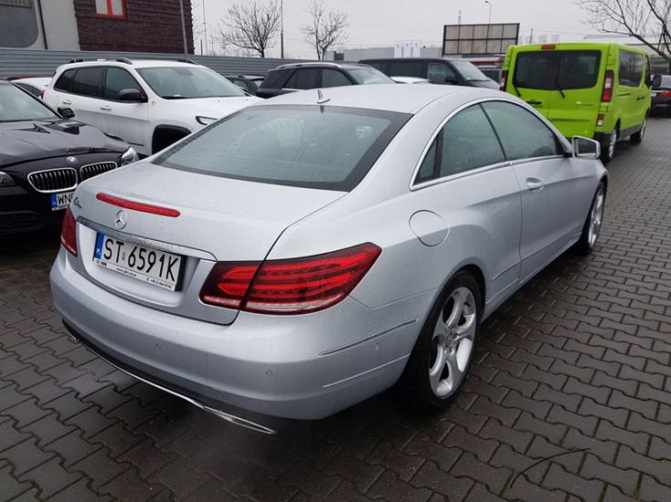 leasing - MERCEDES-BENZ - E 200 Coupe
