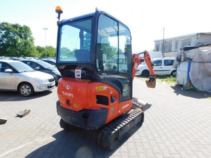 leasing - KUBOTA BAUMASCHINEN GmbH - KX030-4 Seria KX mini koparka