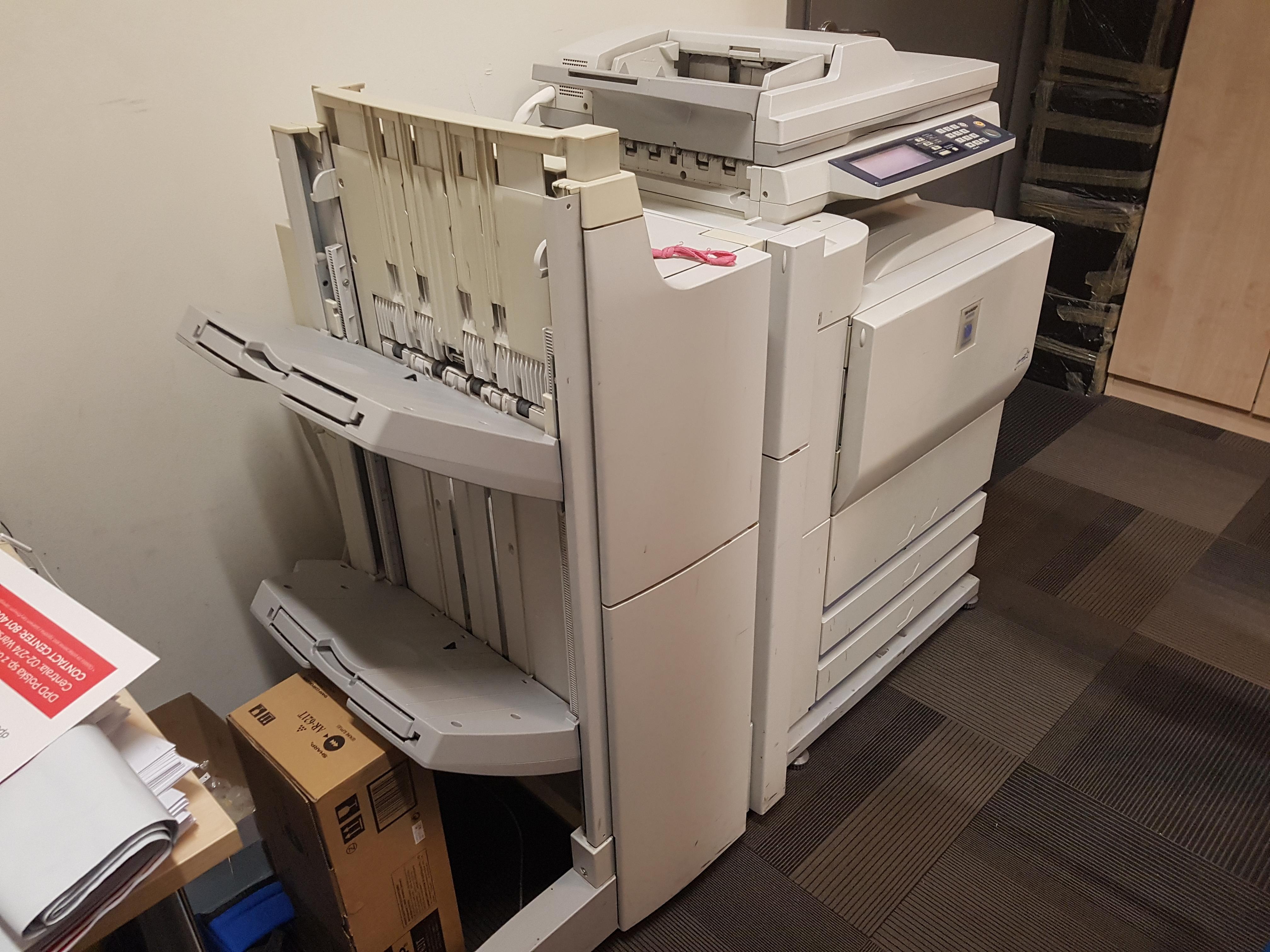leasing - SHARP AR-M55OU - urządzenie drukujące