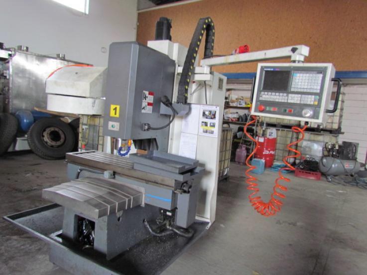 leasing - METAL TECHNICS POLSKA - VMC 936 frezarka sterowana numerycznie